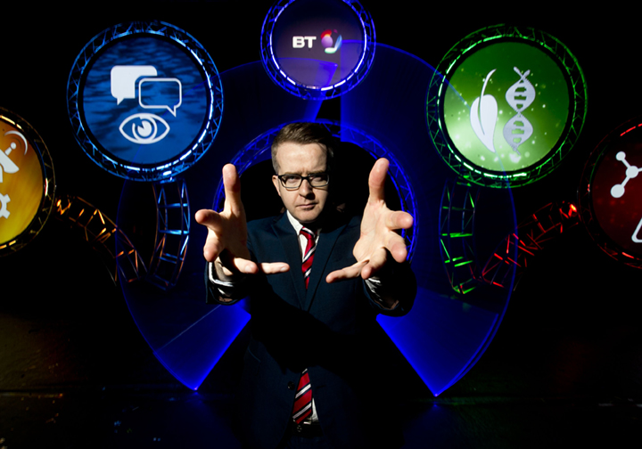 Pictured at the RDS in Dublin is Mentalist David Meade, one of the mind blowing live acts at this year's exhibition.