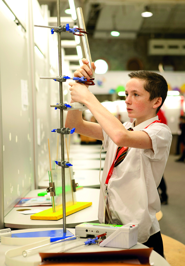 Investigating the flow properties of granular materials