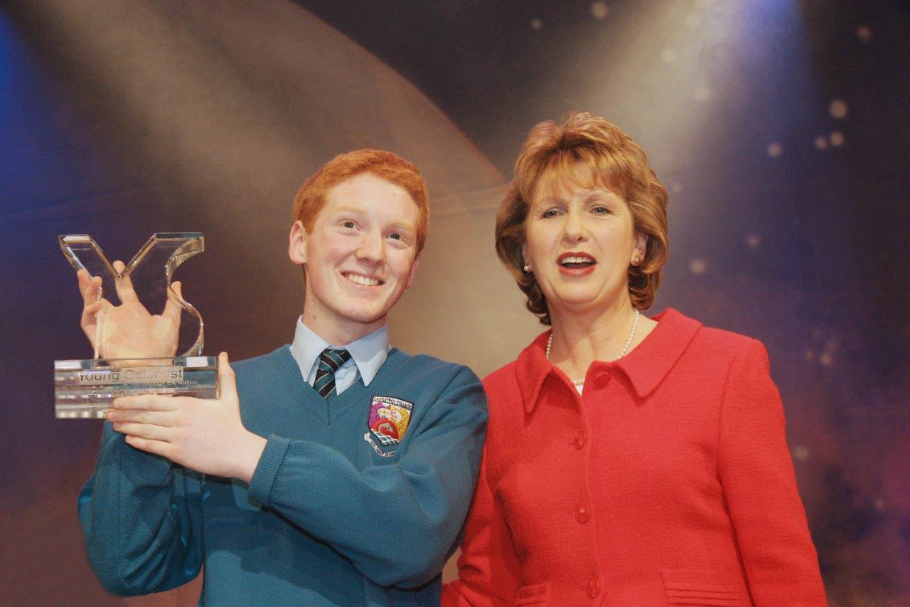 Winner Patrick Collison&Mary McAleese